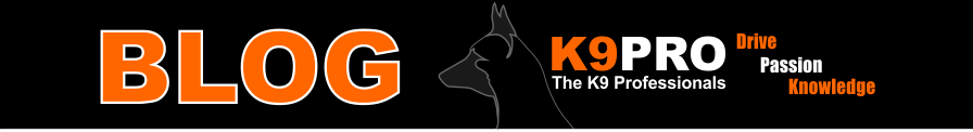 Logo Blog by K9 Pro and Steve Courtney Dog Training