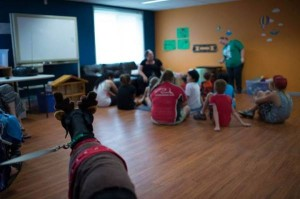 Canines for Child Therapy