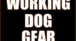 working dog gear