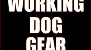working dog gear