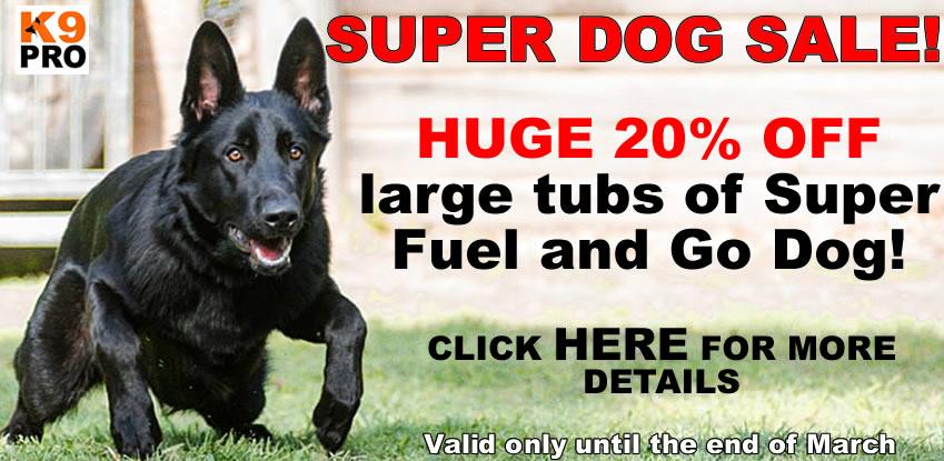 Super Dog Sale, Sale discount